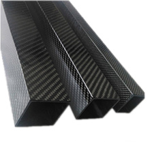Customized Square Carbon Fiber Tube Products