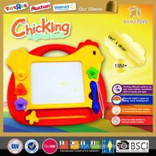 2015 Bebê popular brinquedos educativos miúdos placas de escrita para a placa de escrita nova galinha
