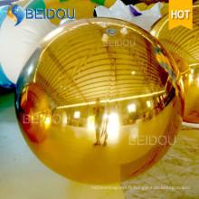 Évènement Christmas Mirror Ball Ornements Mini Disco Ballon gonflable en miroir
