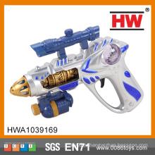 Прохладный 26см пластиковые Spray Электрические игрушки ребенка Gun