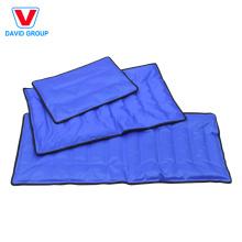 Personalize o envoltório quente de nylon do bloco de gelo do gel do bloco frio de relevo de dor