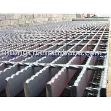 Grille de sol, toile en acier, filet en acier, structure en acier, plancher de grès ouvert