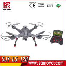 2015 SKY Hunter 2.4G 4CH 6 ejes Gyro en tiempo real sin cabeza RC FPV Quadcopter Drone-SJY-LS-128