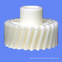 Engranaje helicoidal plástico personalizado