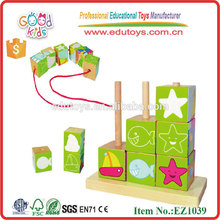 Vente chaude Magnetic Pattern Intelligence Blocks Toys