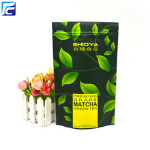 Plastic Ziplock Tea Packaging Bag Bolsa