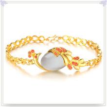 Accesorios de moda pulsera de cristal de joyería de cobre (AB273)