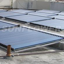 Nicht unter Druck gesetztes heißes Solarpanel