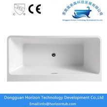 Pure White Ove Decors Acrylic Bathtub