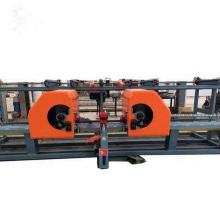 Rebar bending center vertical rebar double bender
