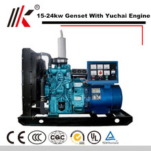 15-24KW GENERATOR SET WITH YUCHAI YC4FA40Z-D20 DIESEL ENGINE 30KVA GENSET