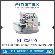 Super haute vitesse Machine à coudre surjeteuse (EX5200)