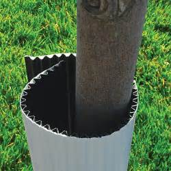 Corrugated Plastic Tree Shields