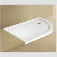 Base de douche plate en acrylique / pierre basse de douche