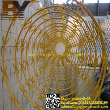 Galvanized Babred Iron Wire Razor Wire Concertina Wire