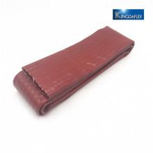 Legen Sie flach orange 3bar PVC Layflat Abflussschlauch 3 Zoll legen Sie flache Bewässerungsschlauch