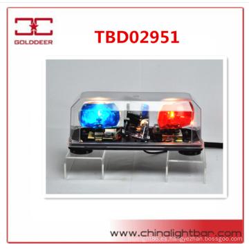 Caliente vender policía giratorio ADVERTENCIA Mini barra halógena giratoria emergencia luz bar(TBD02951)