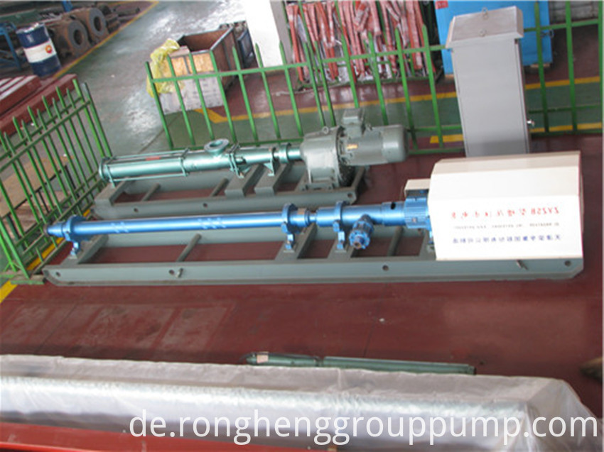 Horizontal pressurized multistage centrifugal pump