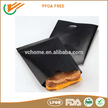 Hot new products heat resistant type FDA certificate Non stick Reusable teflon grilling bags