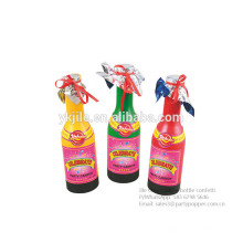 Polygon Mylar Colorful Confetti Champagne Bottle For Wedding