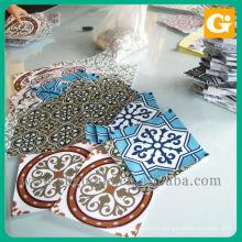 Full Color Die Cut Shape Custom Stickers Printing