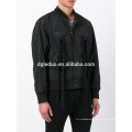 2017 мужчин высокое качество черный куртка Blazer специальный дизайн бомбер