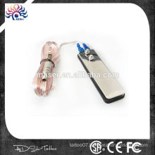 Permanent makeup tattoo foot swicth Stainless steel tattoo machine hydraulic foot pedal