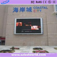 SMD3535 P10 im Freien örtlich festgelegte farbenreiche LED-Anzeigen-Platten-Brett-Schirm-Fabrik-Werbung