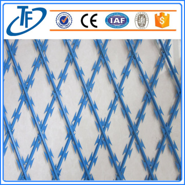 2018 high quality straight line razor barb wire