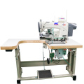 Säumen von Yogahosen Nähmaschine Industrietyp