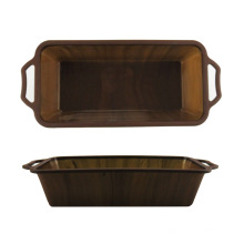 Sturdy Handle Marbling Silicone Bread Pan