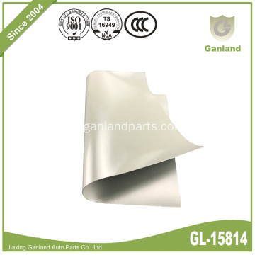 Cover Truk PVC Canvas Tarpaulin Light Grey
