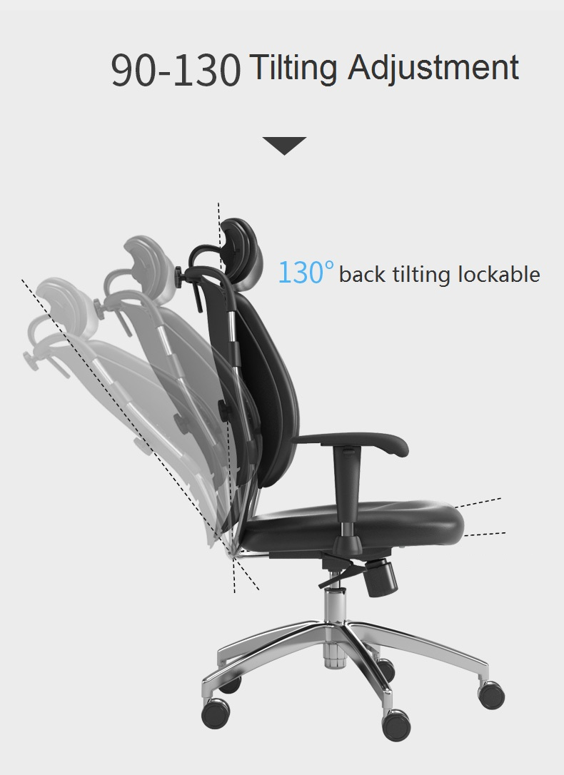 back tilting lockable chair