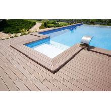 Solid WPC Composite Decking Boards 140mm X 25mm Intertek getestet