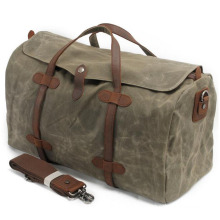 2032 Multi-Functional Wax Canvas Handbags/Shoulder Bag / Messenger Bag with Factory Price