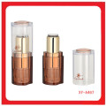 Brown Color Lipstick Case Cosmetic
