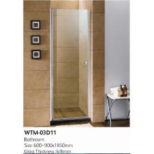 Panneau de douche de haute qualité sur la baignoire Wtm-03D11