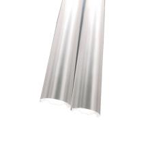 Diffuseur optique transparent transparent givré extrudé