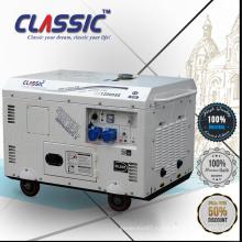 КЛАССИЧЕСКИЙ КИТАЙ Высококачественный генератор 10кВа для бытовых нужд, Легкодвигающийся генератор 10кВт, Электрический пуск10 Дизельный генератор Kva