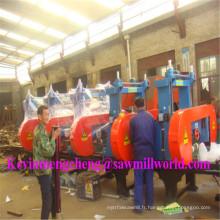 Scie à ruban automatique CNC 5 têtes Scie à ruban bois