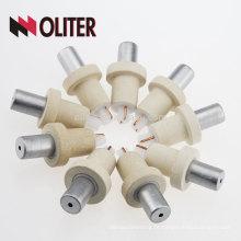 OLITER reação rápida platina phodium dispensável hotsale tipo s termopar descartável com 604 triângulo inferior fabricante
