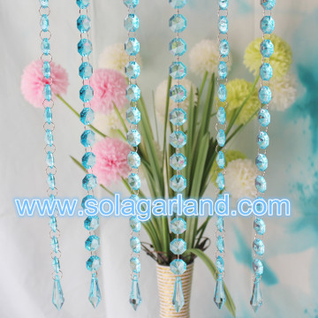 Wedding Favors decoratie acryl kristal kralen Strand Garland gordijn