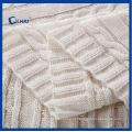 De alta qualidade de cânhamo flores cobertores de algodão (qhbl0091)