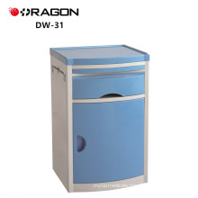 DW-31-A ABS hosiptal standard bedside table medical cabinet