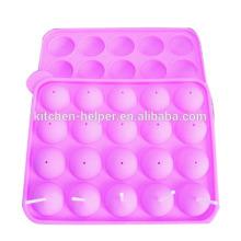 BPA Free Высокое качество 20 полостей Силиконовые Домашние леденец Mold