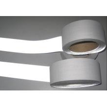 Fita reflexiva de cor cinza com poliéster cozimento Dft1202