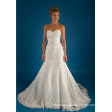 Los vestidos de boda nupciales de la belleza de la fiesta de las muchachas superventas