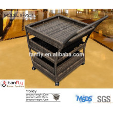 Most durable men crafted hand trolley with aluminum frame.