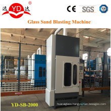 2 Meters Vertical Type Glass Sand Blasting Machine