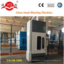 2 medidores de tipo vertical máquina de jateamento de areia de vidro